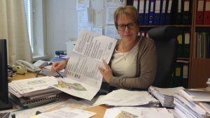 Planläggare Yvonne Liljedahl-Lund i Pedersöre