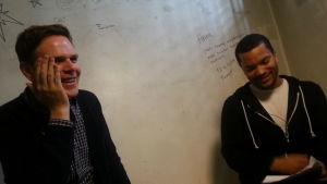 Elokuvaohjaaja Randy Moore ja Stradan Joonatan Pitkänen puhuvat Escape from Tomorrow -elokuvasta.