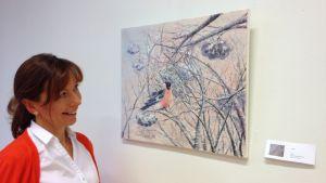 Victoria Yaroshik, bildkonstnär i Nådendal