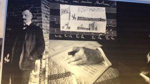 Sibelius på utställningen Din tillgivne