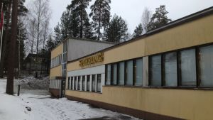 Sporrongs fabrik i Ekenäs.