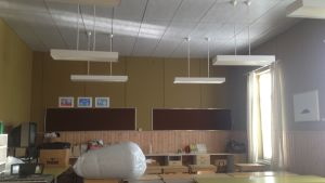 Klassrum i Kristinestads skola