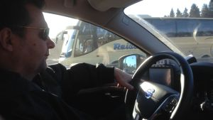 """Kaj"" trivs som företagare bakom ratten"