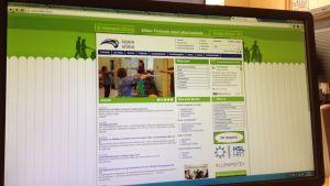 Sibbo kommuns webbplats