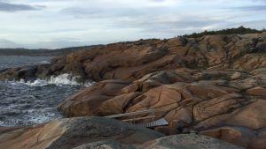 Runda klippor vid Mærrapanna