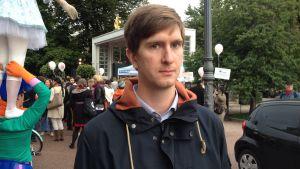Jonas Biström är sakkunnig vid biståndsorganisationen Kepa.