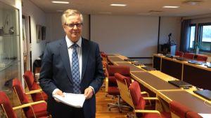Stadsdirektör Antti Isotalus i Karleby.