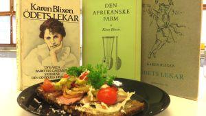 Litteraturcafé på Arbis i Helsingfors med tema Karen Blixen