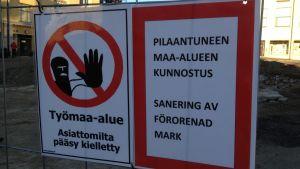 Krämaretorget i Borgå saneras