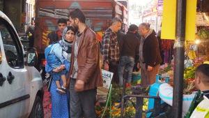 Izmir, syrier, flyktingar, turkiet