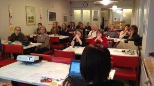 Röda Korsets Som nykomlingens vän och stöd-kurs i Åbo