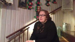 Annette Palanen är familjehandledare inom barnskyddet i Åbo
