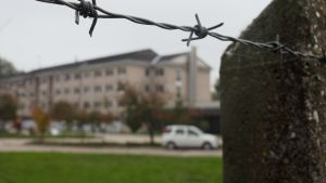 Pakolaiskeskus Unkarin Vamosszabadissa