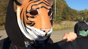 Maskerad demonstrant
