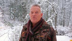 profilbild på Hans Wisktröm, utomhus, vinter och snö