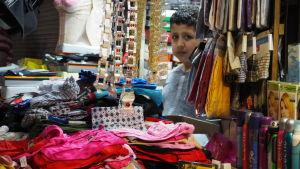 I Turkiet uppskattas en miljon barn jobba.