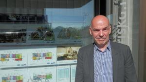 Fastighetsmäklare Jan Riska i Jakobstad