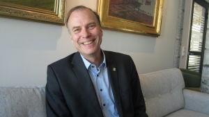 Dan-Erik Woivalin är vd för Ålands ömsesidiga försäkringsbolag.
