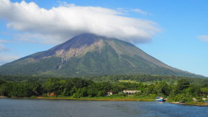 Vulkanön Ometepe i Nicaragua.