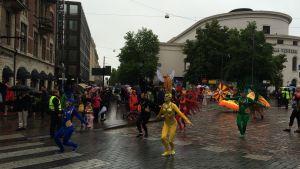 Sambakarneval i Helsingfors