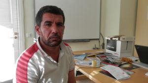 Dzwar Hagar Sahdoon är irakisk flykting i Jakobstad