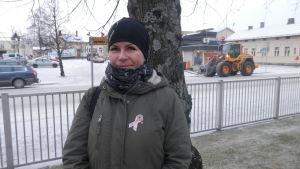 Teija Löfholm är ordförande för Jakobstadsnejdens Djurvänner r.f.