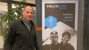 Kriminalkommissarie Ove Storvall