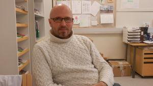 Tillsynsveterinär Mikael Nylund
