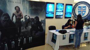 Filmen Map of Salvation samtidig med Tarzan på biograf i Beirut