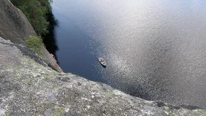 Utsikt från Olhavanvuori i Kouvola.