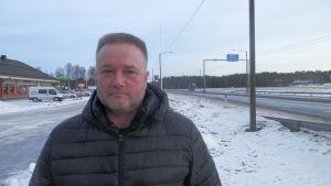 Staffan Molander, viceordförande för SKAL-Österbotten