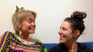 Ida Henrikson och Anna-Sofia Nylund var stora Spice Girlsfans på 90-talet.