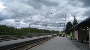 Bennäs station.