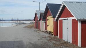 Båthamnen vid Andra sjön i Nykarleby