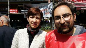 Nuriye Gülmen (t.v)
