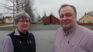 Anita Björklund och Johan Willman i Purmo