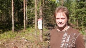 Skogsmaskinentreprenör Sten Kallträsk