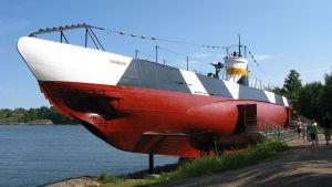 Vesikko, Finsk ubåt på Sveaborg.