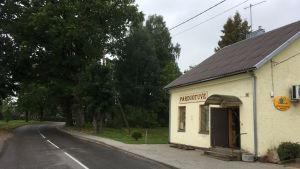 Bybutiken i gränsstaden Smalininkai.