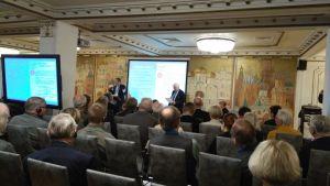 Finsk-ryskt kultursamarbete i S:t Petersburg i september 2017.