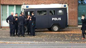 Polisen förbereder sig för nazistmarsch i Göteborg