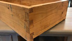 låda i trä