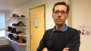 """Jan-Erik """"Janne"""" Holmkvist, rektor för Söderkulla skola."""