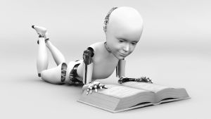 En robot som lär sig själv.
