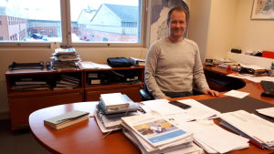 Björn Åkerlund, vd på Alholmens Kraft