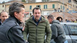 Lega Nords partiledare Matteo Salvini