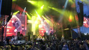 Ozzy Osbourness ljusshow 6.6.2018 i Hyvinge.