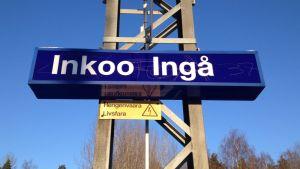 tågstationen i Ingå