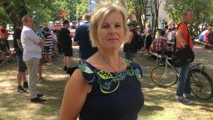 Forskaren Ann-Christine Jungar.