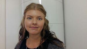 Jenni Haapala på Marthaförbundet.